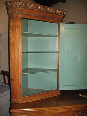 Antique Corner Cupboards