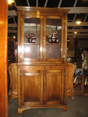 Oak  Victorian Style two door