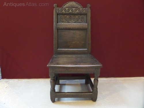 17thc Yorkshire oak side chair c1660