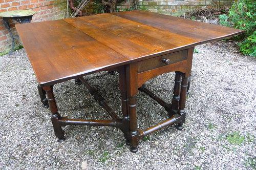 Large 18thc Oak Farmhouse Table c1750