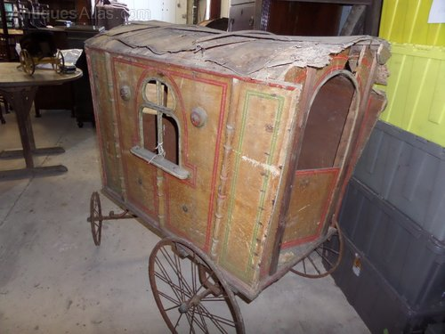 Romany caravan,child,s for restoration c1890