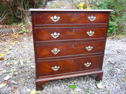 Small georgian Mahogany Chest