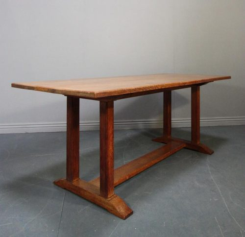 1920 39 S Heals Oak Refectory Dining Table Antiques Atlas
