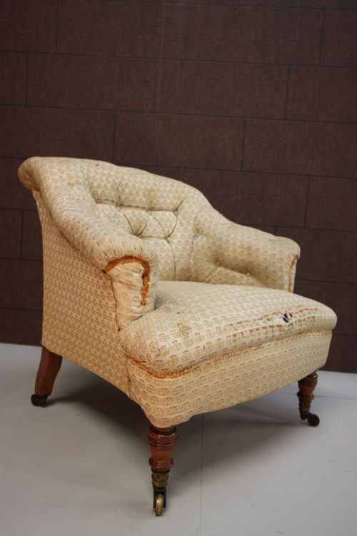 Antique Howard Amp Sons Upholstered Armchair Antiques Atlas