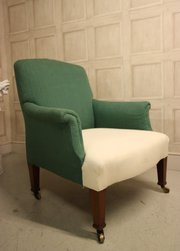 Antique Upholstered Armchair b