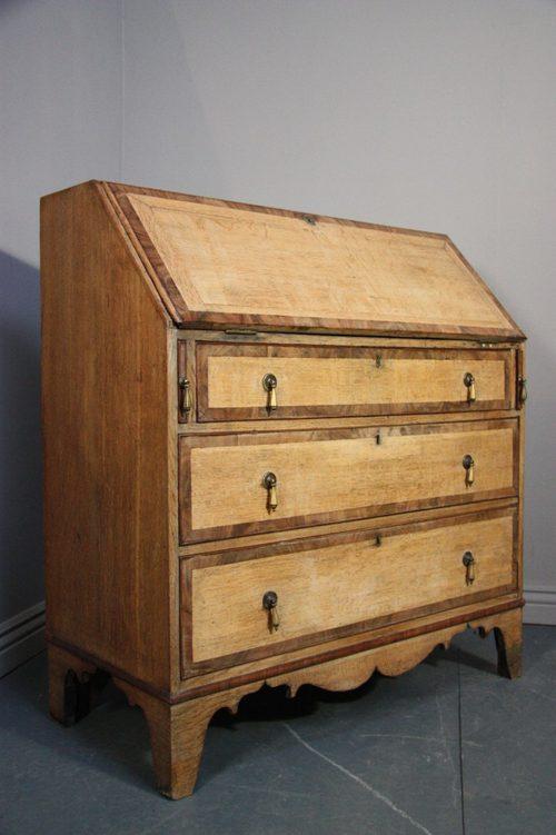 georgian antique oak writing bureau now 25 off antiques atlas. Black Bedroom Furniture Sets. Home Design Ideas