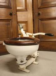Original 1920s Ships Lavatory