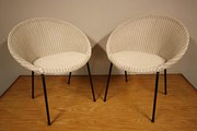 Smart Pair of 1950s Lloyd Loom