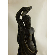 Bronze Greek God Statue C1900