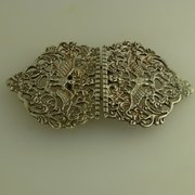Silver Nurses Buckle Bir 1930