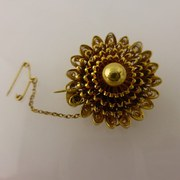 Victorian Flower Brooch