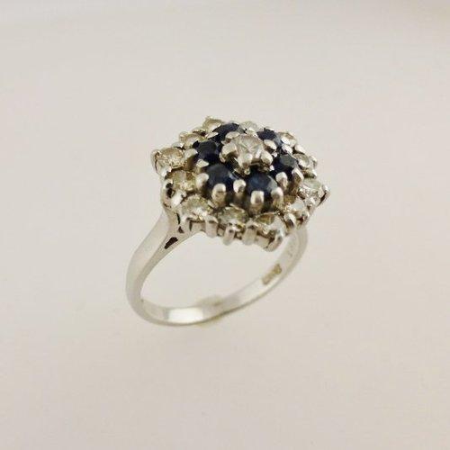 antiques atlas vintage sapphire ring