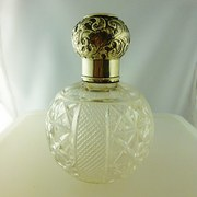 silver top perfume bottle 1909