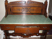Irish Oak Washstand