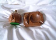 Mouseman Ashtray and Lighter
