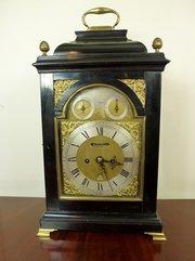 18th C Bracket Clock  Francis