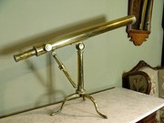 19th C Brass Telescope