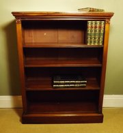 19th C Mahogany Bookcase