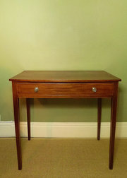 19th C Mahogany Side Table
