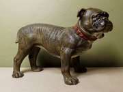 19th C Terrarcotta Dog