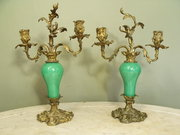 Pair 19th C Candle Sconces