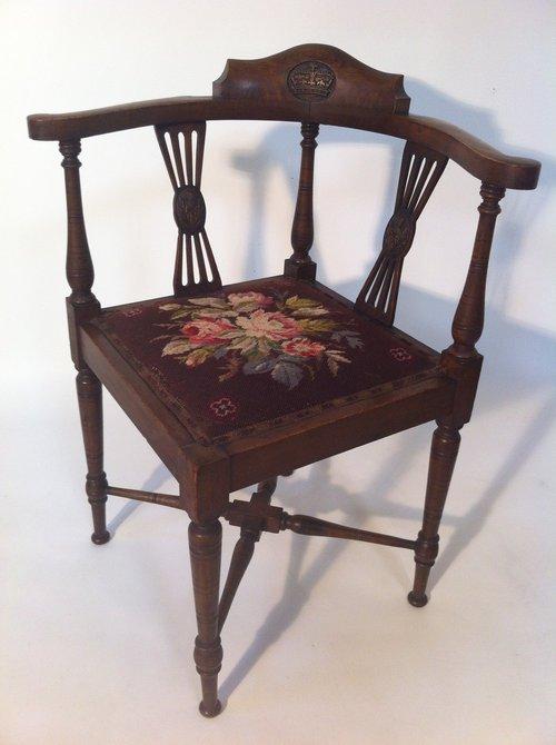 scottish corner chair antiques atlas