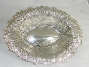 Lovely Silver Dish 1895