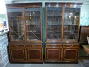 Pair Mahogany Bookcases