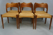 Set of Six Danish Dining Chair
