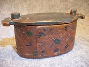Antique Swedish Bentwood Box