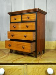 Miniature Bank Of Drawers