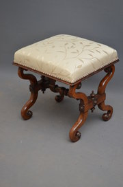 Early Victorian Dressing Stool