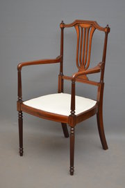 Exceptional Edwardian Armchair