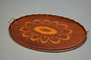 Exceptional Edwardian Tray   M