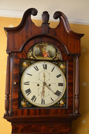 Exquisite Regency Longcase Clo
