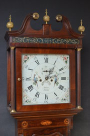 Fine Georgian Longcase Clock b