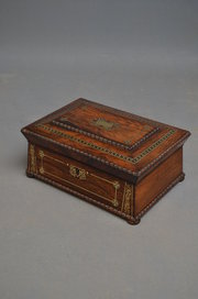 Fine Regency Jewellery Box  Se