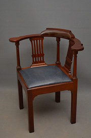 Georgian Corner Chair