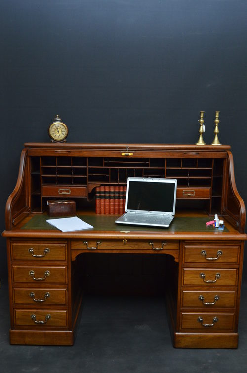 Turn Of The Century Roll Top Desk Antiques Atlas