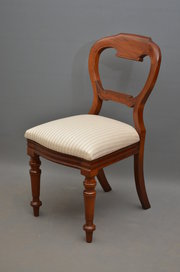 Set of 8 Victorian Mahogany Di