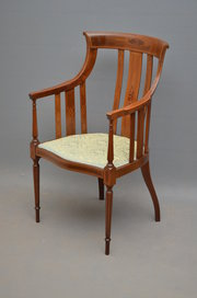 Stylish Edwardian Armchair