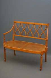 Turn of the century Settee