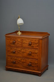 Victorian Mahogany Chest of Dr
