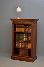 Victorian Mahogany Open Bookca