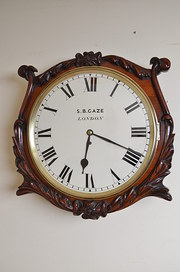 Victorian Wall Clock by S B Ga