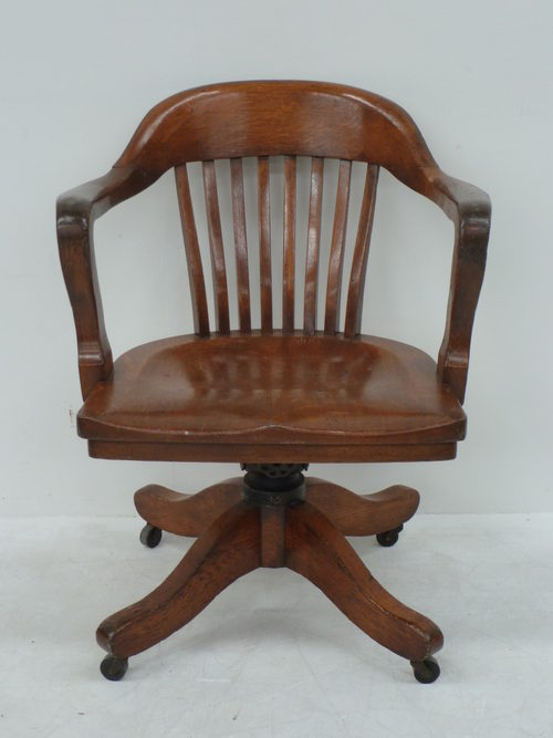 Antique Armchairs Occasional Chairs Antiques Atlas : OakTiltandSwivelOfficeDesas259a254b <strong>Wood</strong> Desk Antique Chair from www.antiques-atlas.com size 500 x 667 jpeg 36kB