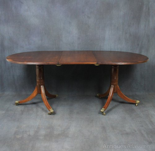 Edwardian Mahogany Dining Table