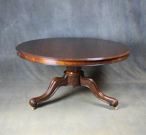 Victorian Mahogany Breakfast / Dining Table
