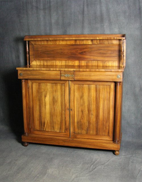 William IV Goncalo Alves Chiffonier / Sideboard