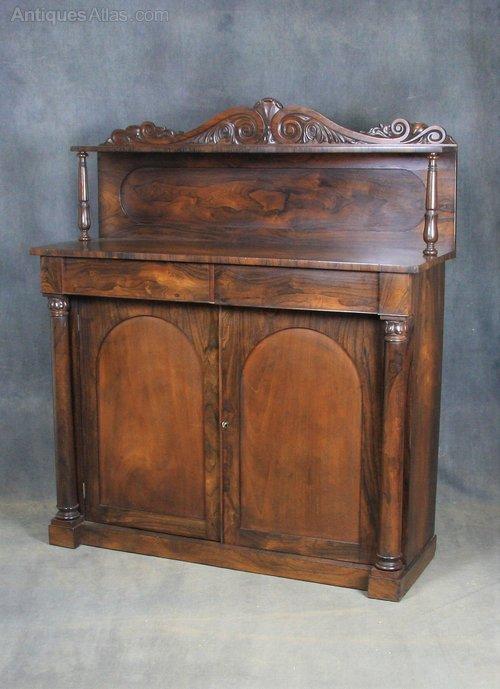 William IV Rosewood Chiffonier / Sideboard